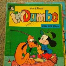 Tebeos: DUMBO -- Nº 2 -- WALT DISNEY -- MONTENA 1978 --. Lote 213865285