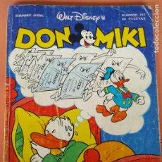 Tebeos: DON MIKI Nº 340 MONTENA ) - WALT DISNEY. Lote 214016340