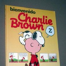 Tebeos: BIENVENIDO CHARLIE BROWN. CHARLES M. SCHULZ. MONTENA, MONDIBÉRICA, 1986. Lote 217368910