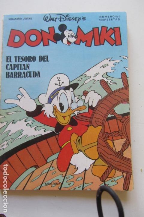 DON MIKI Nº 566 MONTENA MUCHOS MAS A LA VENTA MIRA TUS FALTAS CX70 (Tebeos y Comics - Montena)