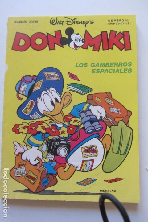 DON MIKI Nº 564 MONTENA MUCHOS MAS A LA VENTA MIRA TUS FALTAS CX70 (Tebeos y Comics - Montena)