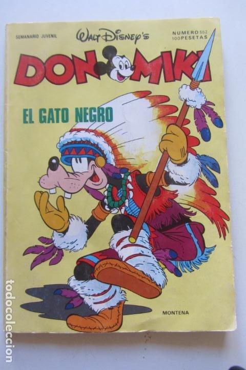 DON MIKI Nº 552 MONTENA MUCHOS MAS A LA VENTA MIRA TUS FALTAS CX70 (Tebeos y Comics - Montena)