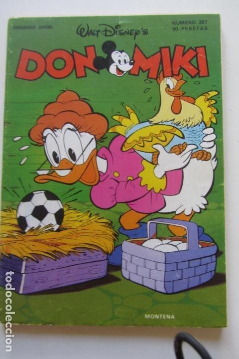 DON MIKI Nº 267 MONTENA MUCHOS MAS A LA VENTA MIRA TUS FALTAS CX70 (Tebeos y Comics - Montena)