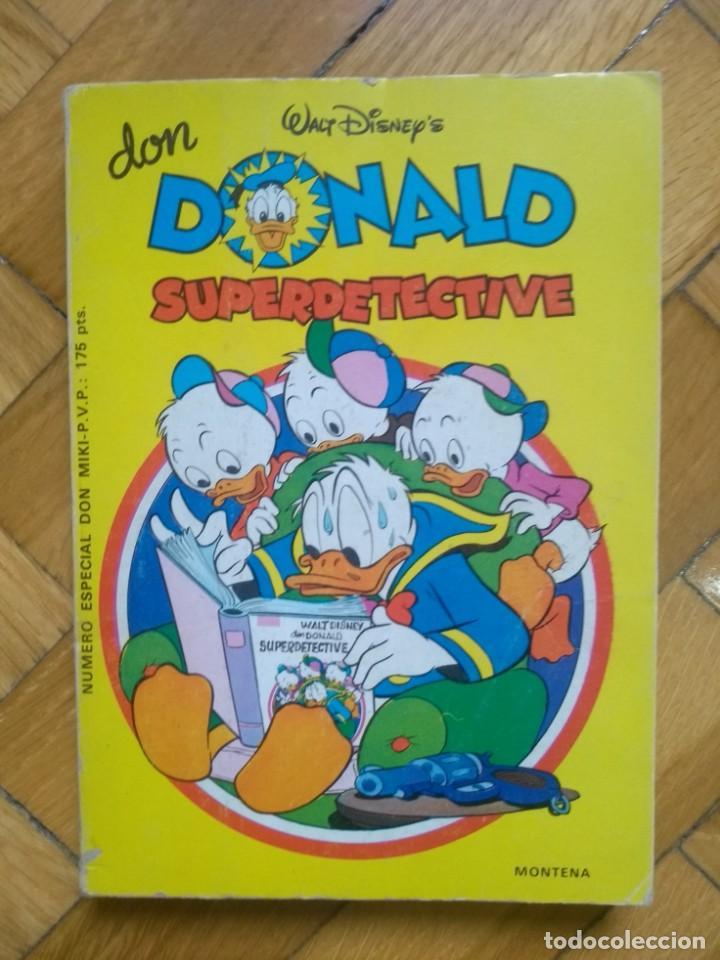 DON DONALD SUPERDETECTIVE - SUPER DETECTIVE - ESPECIAL DON MIKI (Tebeos y Comics - Montena)