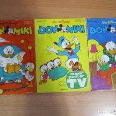 Tebeos: LOTE 3 COMICS DON MIKI MONTENA. Lote 223944566