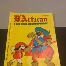 Tebeos: D'ARTACAN Y LOS TRES MOSQUEPERROS. 6.. Lote 227599260