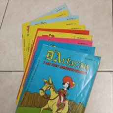 Livros de Banda Desenhada: D´ARTACAN DARTACAN Y LOS TRES MOSQUEPERROS LOTE 10 TEBEO COMIC EDITORIAL MONTENA. Lote 229533635