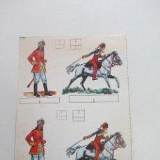 Livros de Banda Desenhada: RECORTABLE SOLDADOS ENCARTADO EN DON MIKI MONTENA CX75. Lote 230967355