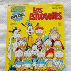 Tebeos: DISNEY ESPECIAL NÚM. 1: LOS ESTUDIANTES. CONTINE CALENDARIO. Lote 231069775