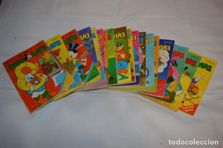 DON MIKI - 18 REVISTAS - SEMANARIOS - MONTENA WALT DISNEY'S - AÑOS 80 ¡MIRA FOTOS/DETALLES! LOTE 03 (Tebeos y Comics - Montena)