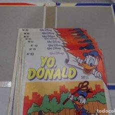 Livros de Banda Desenhada: YO DONALD, ED. MONTENA 1.986, TOMO POR ESTRENAR Y 8 NÚMEROS EN BUEN ESTADO. LOTE RESERVADO F*****3. Lote 232887565