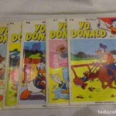 Tebeos: YO DONALD, ED. MONTENA 1.986, 5 NÚMEROS EN BUEN ESTADO. LEER DESCRIPCIÓN. Lote 232888045