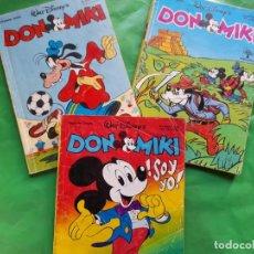 Tebeos: COMICS DON MIKI DISNEY SEMANARIO JUVENIL AÑOS 80 506 638 Y 661 (ESPECIAL PRIMAVERA). Lote 95697619