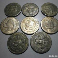 BDs: LOTE DE MONEDAS FICHAS PROMOCIONALES BANK DON MIKI AÑOS 70 BUEN ESTADO. Lote 242365745