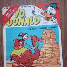 Tebeos: YO, DONALD N. 42 - MONTENA - 1987. Lote 243637245
