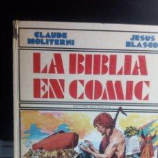 Tebeos: JESÚS BLASCO / CLAUDE MOLITERNI - LA BIBLIA EN CÓMIC. Lote 244740800