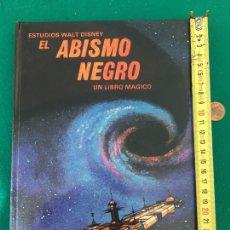 Giornalini: EL ABISMO NEGRO UN LIBRO MÁGICO. ED. MONTENA. CON TROQUELADOS MOBILES. 1980. Lote 244774025