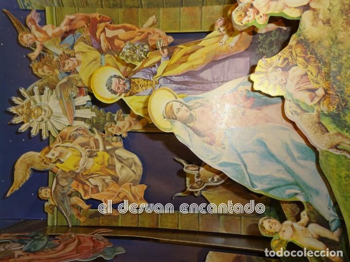 Tebeos: NACIMIENTO POP-UP. Montena 1981. Belen - Foto 3 - 245081575