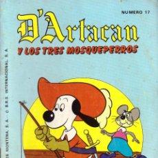 Tebeos: COMIC D'ARTACAN Y LOS TRES MOSQUEPERROS, Nº 17 - MONTENA. Lote 246012905