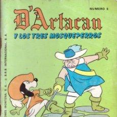 Tebeos: COMIC D'ARTACAN Y LOS TRES MOSQUEPERROS, Nº 5 - MONTENA. Lote 246013025