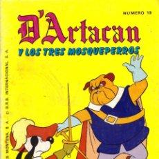 Tebeos: COMIC D'ARTACAN Y LOS TRES MOSQUEPERROS, Nº 19 - MONTENA. Lote 246013065