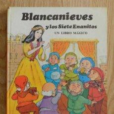 Tebeos: BLANCANIEVES Y LOS SIETE ENANITOS MONTENA CUENTO TRIDIMENSIONAL DIORAMA DESPLEGABLE LIBRO MÁGICO. Lote 249463255