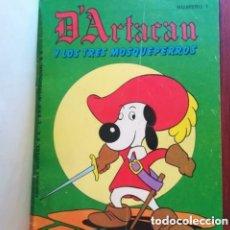 Tebeos: D'ARTACAN DARTACAN Y LOS 3 TRES MOSQUEPERROS 26 NUMEROS COLECCION COMPLETA 1982 MONTENA. Lote 254143715
