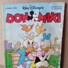 Tebeos: DON MIKI - WALT DISNEY - N 363 - EDITORIAL MONTENA. Lote 256025665