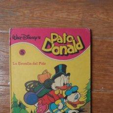 Tebeos: PATO DONALD Nº 5 LA ESTRELLA DEL POLO EDITORIAL MONTENA 1981 TAPA DURA. Lote 263219995
