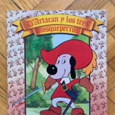 Tebeos: D'ARTACAN Y LOS TRES MOSQUEPERROS - DANONE - D8. Lote 268855894