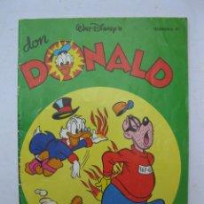 Tebeos: DON DONALD - Nº 81 - WALT DISNEY - MONTENA - AÑO 1979.. Lote 277593478