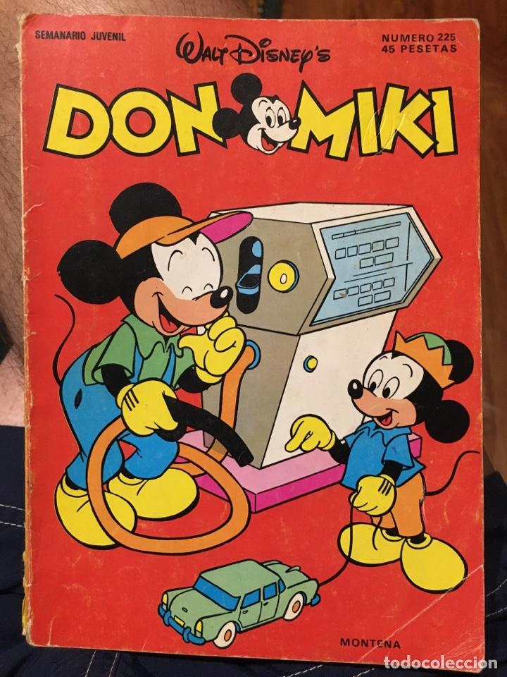 DON MIKI - NÚMERO 225 - MONTENA (Tebeos y Comics - Montena)
