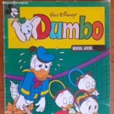 Livros de Banda Desenhada: DUMBO Nº 28. MONTENA 1980. BUEN ESTADO. PUBLICIDAD STAR WARS POCH IMPERIO CONTRAATACA. Lote 287582073