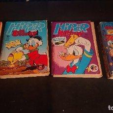 Tebeos: LOTE DE 4 LIBROS HIPER DISNEY Nº 9 , 12 15 ,16 , LEER DESCRIPCION. Lote 288568388