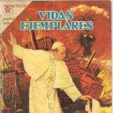 Tebeos: VIDAS EJEMPLARES EXTRAORDINARIO 01.10.1959, S.S.PÍO XII, NOVARO, SPANISH. Lote 27435294