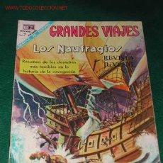 Tebeos - GRANDES VIAJES. LOS NAUFRAGIOS Num.62 (Ed.Novaro) - 15532818