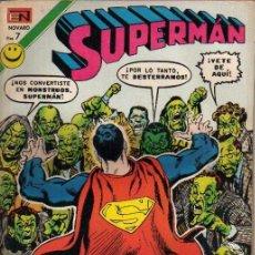 Tebeos: SUPERMAN Nº 882. EL ENEMIGO DE LA TIERRA. NOVARO. Lote 3154654