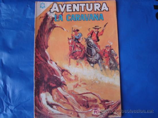 AVENTURA N°410 LA CARAVANA NOVARO (Tebeos y Comics - Novaro - Aventura)
