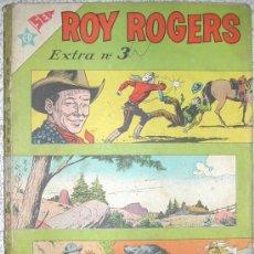 Tebeos: ROY ROGERS EXTRA Nº 3 NOVARO 96 PAGINAS NUMERO EXTRAORDINARIO CON LOGOS ER Y SEA. Lote 25849324