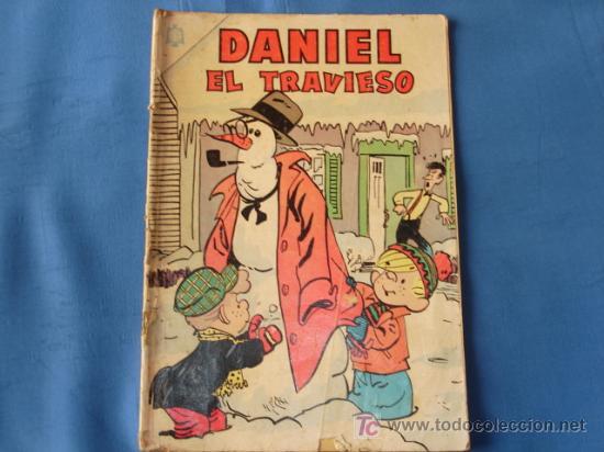 DANIEL EL TRAVIESO N° 4 - NOVARO (Tebeos y Comics - Novaro - Otros)