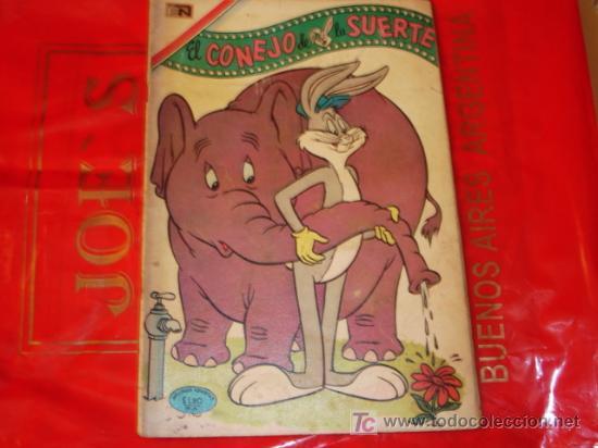 EL CONEJO DE LA SUERTE N°337 - - NOVARO (Tebeos y Comics - Novaro - El Conejo de la Suerte)