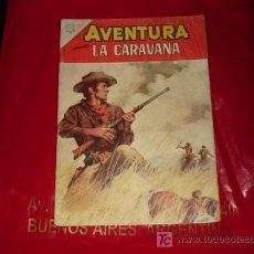 Tebeos: AVENTURA N°434 - LA CARAVANA -NOVARO . Lote 8190083