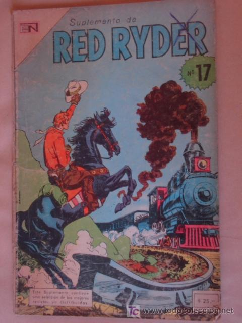RED RYDER SUPLEMENTO N° 10 *NOVARO * (Tebeos y Comics - Novaro - Red Ryder)