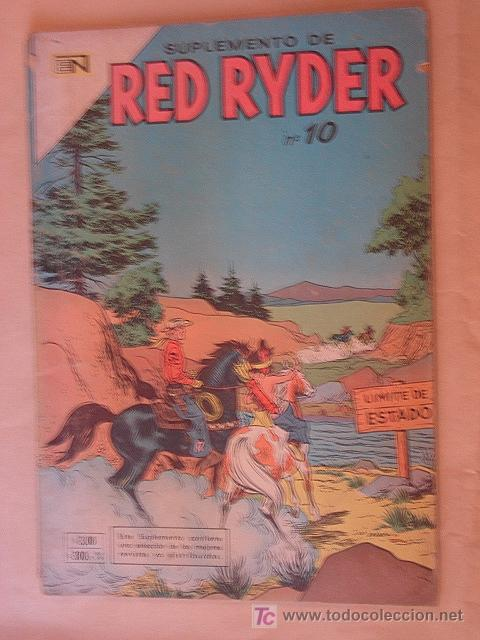 RED RYDER SUPLEMENTO N° 17 *NOVARO * (Tebeos y Comics - Novaro - Red Ryder)