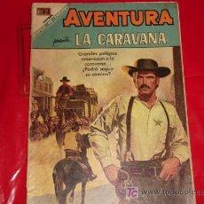 Tebeos: AVENTURA N°568 -LA CARAVANA -NOVARO . Lote 8190175