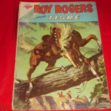 Tebeos: ROY ROGERS N°124 - REY DE LOS VAQUEROS -TIGRE - PLENA MONTAÑA - NOVARO. Lote 8054344