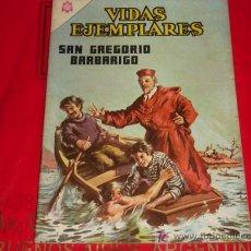 Tebeos: VIDAS EJEMPLARES N°222 -SAN GREGORIO BARBARIGO - NOVARO . Lote 6966309