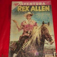 Tebeos: AVENTURA N° 93 - REX ALLEN - PLAN PERFECTO - NOVARO. Lote 8168294