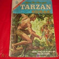 Tebeos: TARZÁN N°179 -KORAK EL IMPOSTOR - NOVARO . Lote 7596220