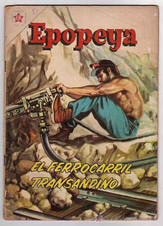 EPOPEYA Nº51 - NOVARO (Tebeos y Comics - Novaro - Epopeya)